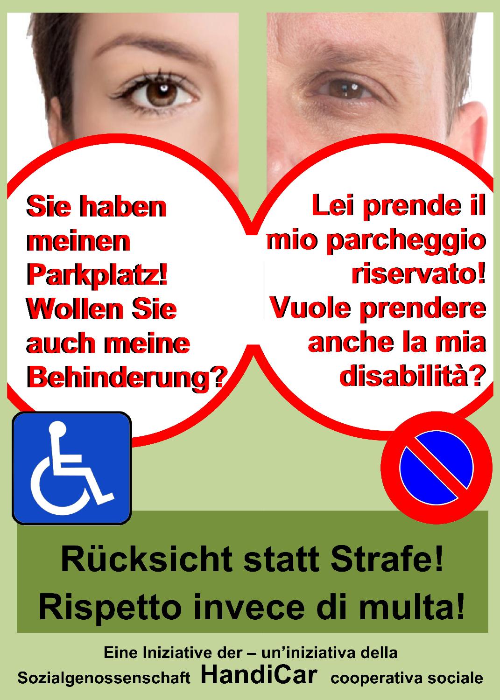 Rücksicht statt Strafe: Menschen mit Behinderung sensibilisieren gegen den Missbrauch von Behindertenparkplätzen