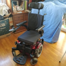 Elektro-Rollstuhl Sunrise Quickie Salsa M2