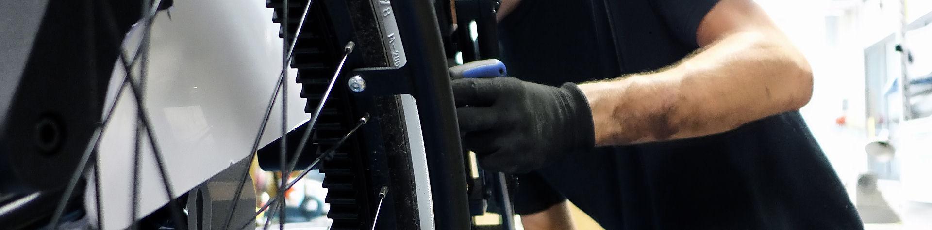 Rollstuhl Detail