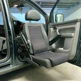 sedile per auto con comandi elettrici in ottimo stato